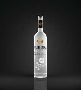 декор цилиндрических бутылок