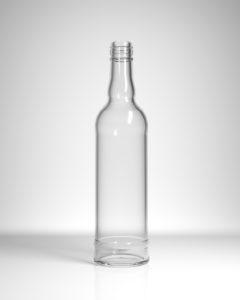 бутылка стеклянная Дворцовая