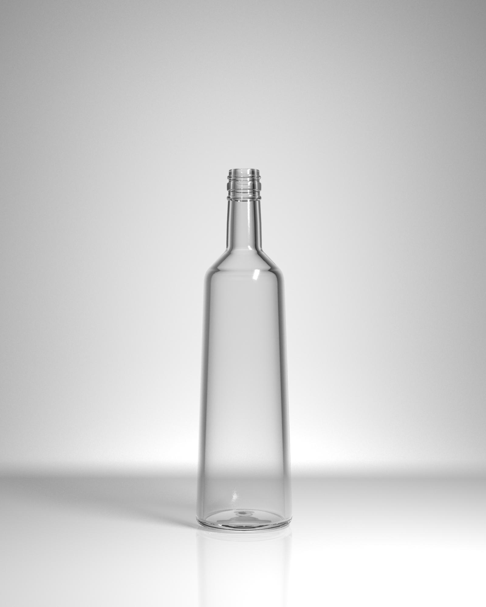 бутылка стеклянная Топаз