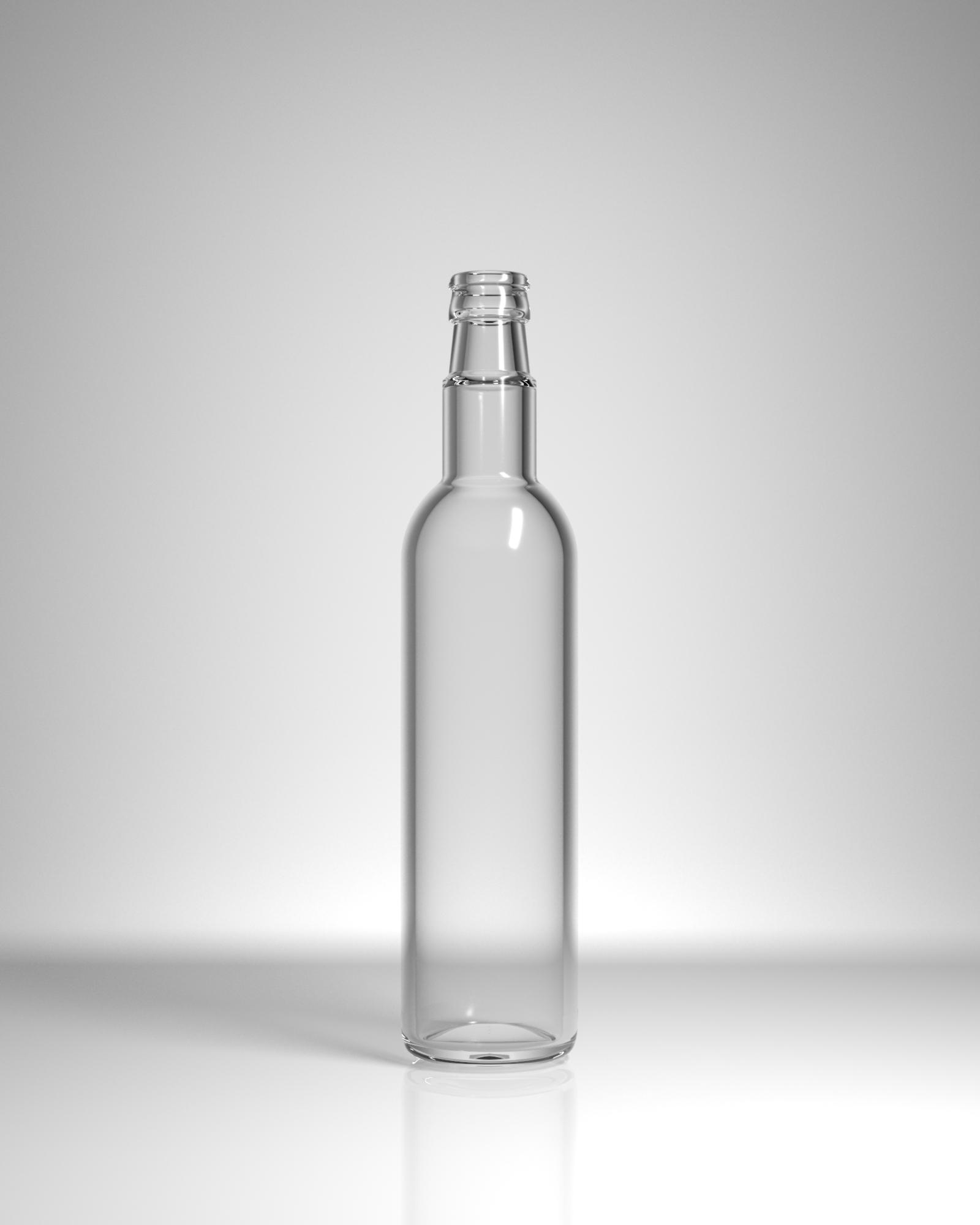 бутылка стеклянная Тонда