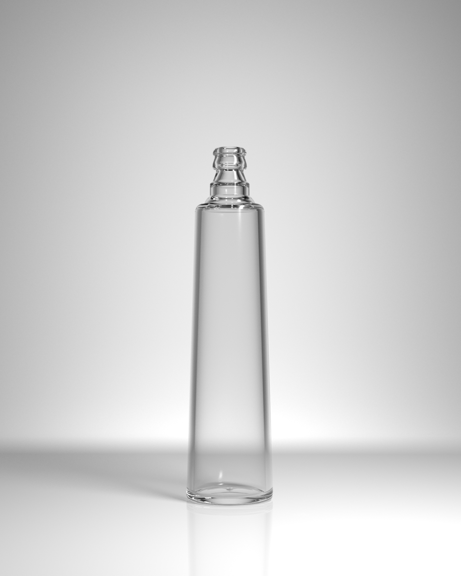 бутылка стеклянная Агат