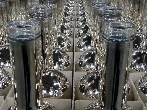вакуумная металлизация бутылок