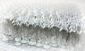стеклянные бутылки прозрачные