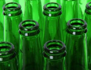 зеленые бутылки